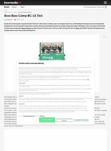 Bonedo.de Boss Bass Comp BC-1X