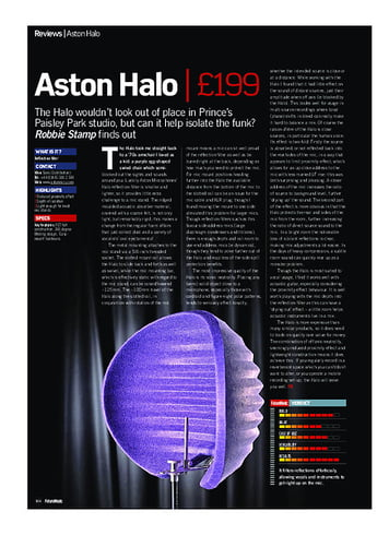Future Music Aston Halo