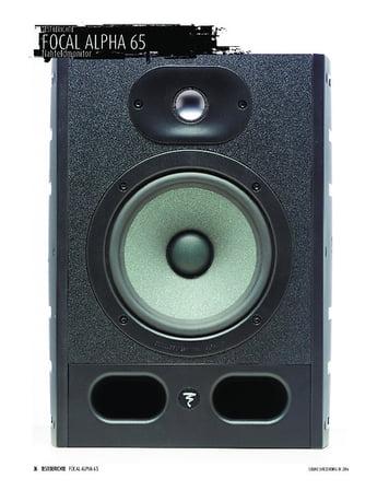 Sound & Recording Focal Alpha 65 - Nahfeldmonitor