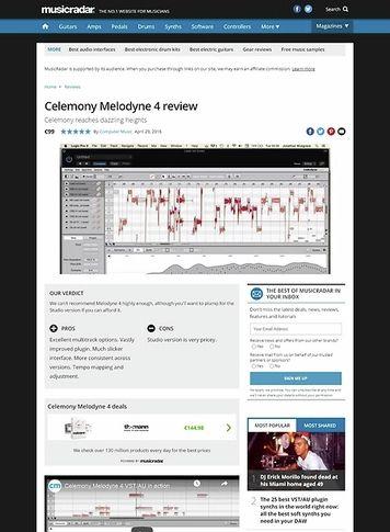 Celemony Melodyne 4 assistant – Thomann UK