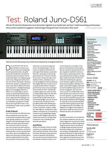 Beat Roland Juno DS61