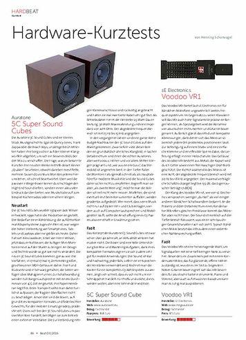 Beat Auratone 5C und SE Electronics Voodoo VR1