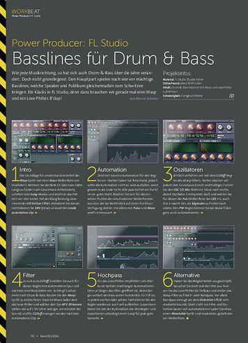 Beat Power Producer: Basslines für Drum & Bass