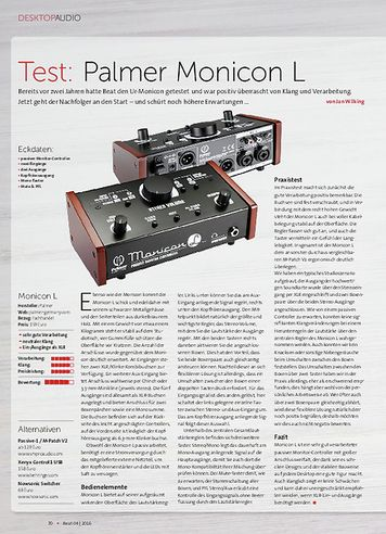 Beat Palmer Monicon L