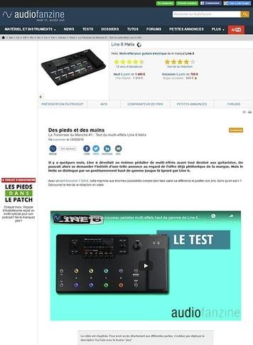Audiofanzine.com Line 6 Helix