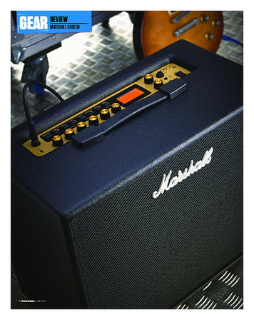 Total Guitar Marshall Code50