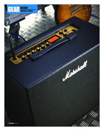 Total Guitar Marshall Code50