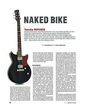 Gitarre & Bass Yamaha RSP20CK, E-Gitarre