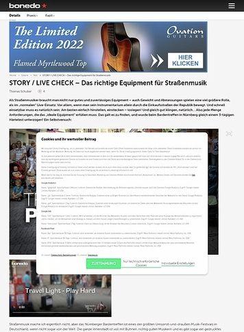 Bonedo.de Travel Light - Play Hard: Das richtige Equipment für Straßenmusik