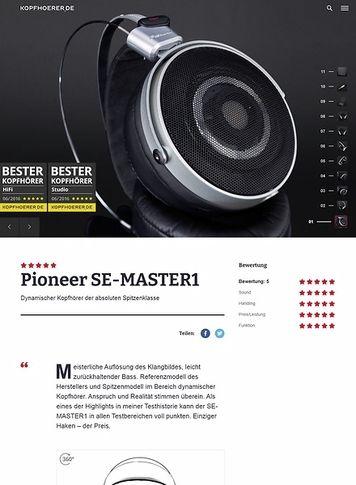 Kopfhoerer.de Pioneer Master1