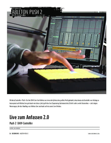 Sound & Recording Ableton Push 2 - DAW-Controller