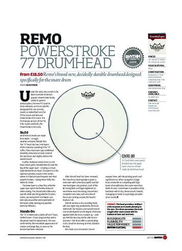 Rhythm Remo Powerstroke 77 Drumhead