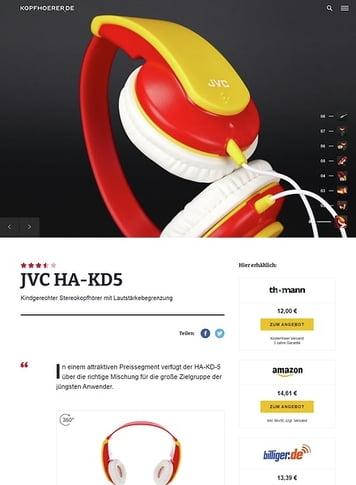 Kopfhoerer.de JVC HA-KD5R