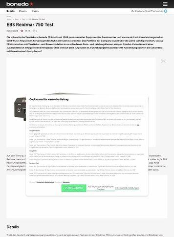 Bonedo.de EBS Reidmar 750
