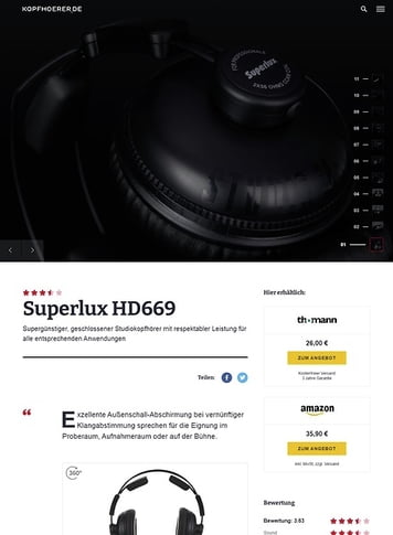 Kopfhoerer.de Superlux HD-669