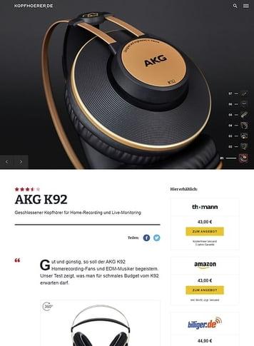 Kopfhoerer.de AKG K-92