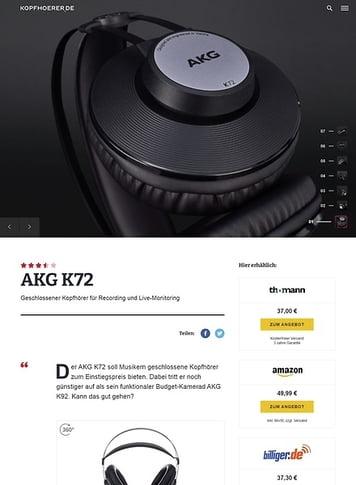 Kopfhoerer.de AKG K-72