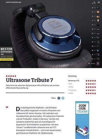 Kopfhoerer.de Ultrasone Tribute 7
