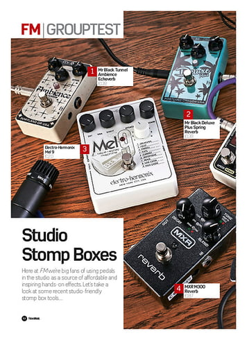 Future Music Studio Stomp Boxes