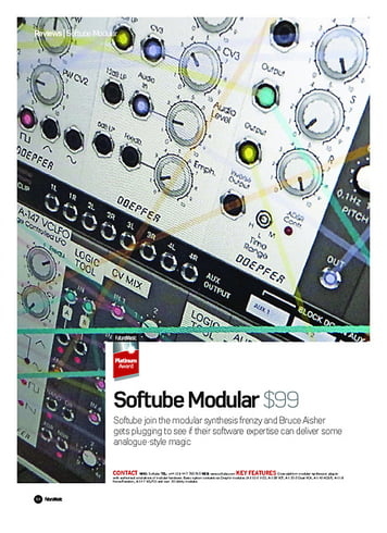 Future Music Softube Modular
