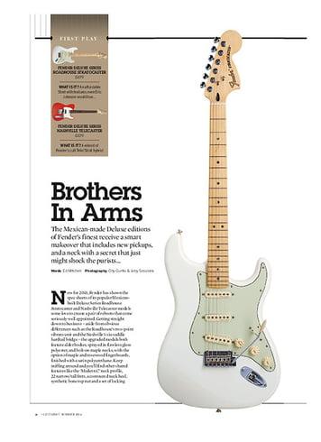 Guitarist Fender Deluxe Nashville Telecaster