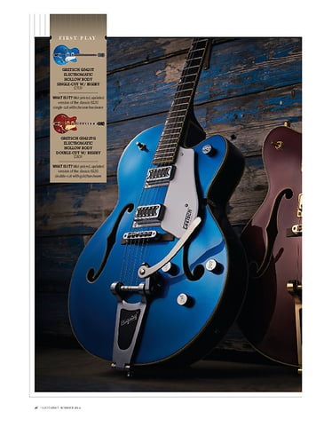 Guitarist Gretsch G5422T Electromatic Hollow Body Double-Cut W/ Bigsby