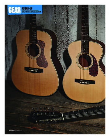 Total Guitar Guild D-240E, F2412-E and M240-E