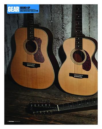 Total Guitar Guild D-240E, F2412-E and M240-E