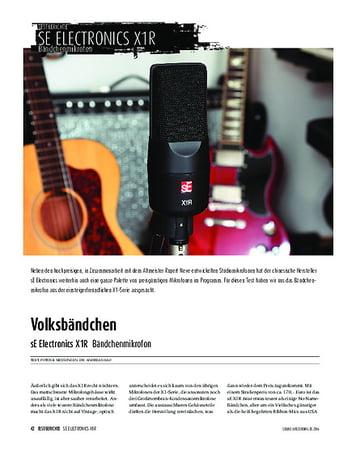Sound & Recording sE Electronics X1R - Bändchenmikrofon