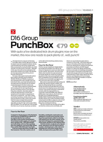 Computer Music D16 Group PunchBox