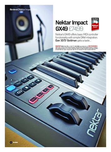 Future Music Nektar Impact GX49