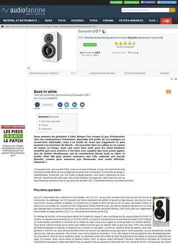 Audiofanzine.com Dynaudio LYD 7