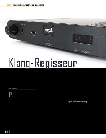 Professional Audio SPL Pro-Fi Director