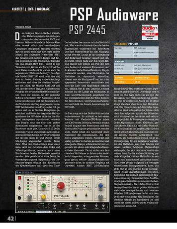 Professional Audio PSP Audioware 2445