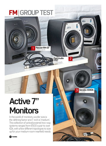 Future Music Active 7 inch Monitors