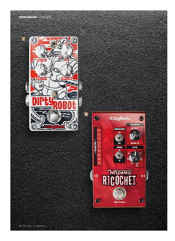 Guitarist Digitech Whammy Ricochet