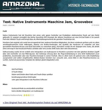Amazona.de Test: Native Instruments Maschine Jam, Groove Studio