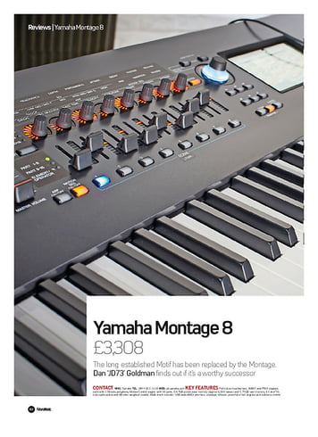 yamaha montage 8 thomann uk. Black Bedroom Furniture Sets. Home Design Ideas