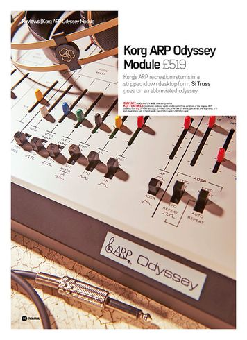 Future Music Korg ARP Odyssey Module