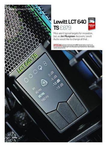 Future Music Lewitt LCT 640 TS