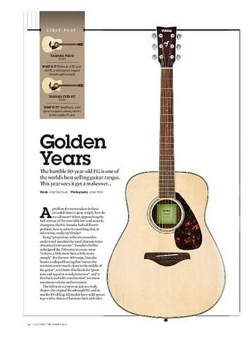 Guitarist Yamaha FSX830C