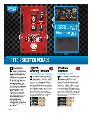Total Guitar Pitchshifter Pedals