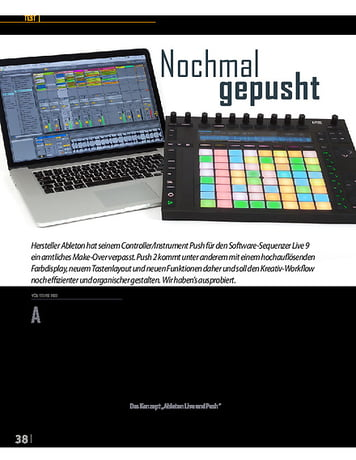 Professional Audio Ableton Push 2