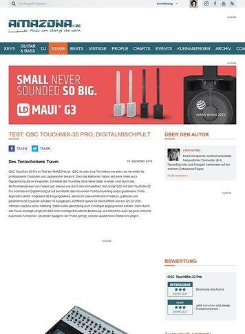 Amazona.de QSC TouchMix-30 Pro