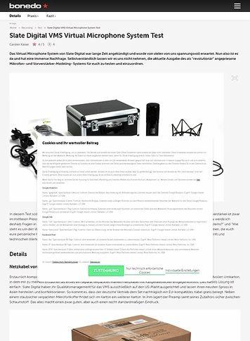 Bonedo.de Slate Digital Virtual Microphone System