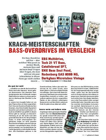 Gitarre & Bass Krachmeisterschaften! Basszerrer im Vergleich