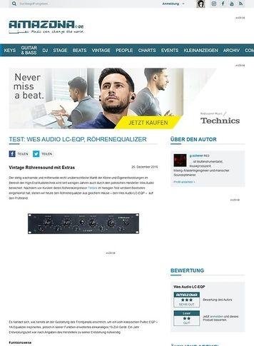 Amazona.de Wes Audio LC-EQP
