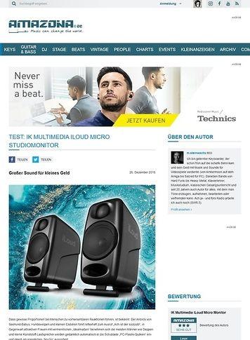 Amazona.de IK Multimedia iLoud Micro Monitor