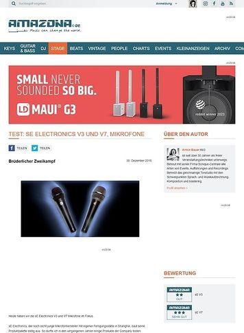 Amazona.de sE Electronics V3 und V7