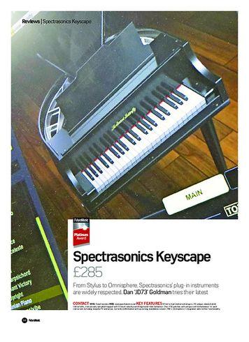 Future Music Spectrasonics Keyscape